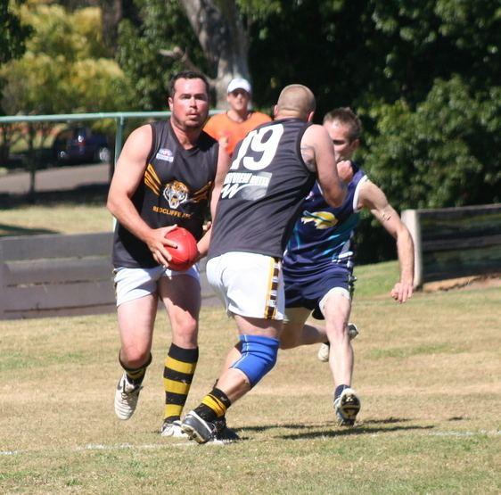 Alan Hunter (Australian rules footballer) Alan Hunter Dave McCreadie Redcliffe AFL Tigers