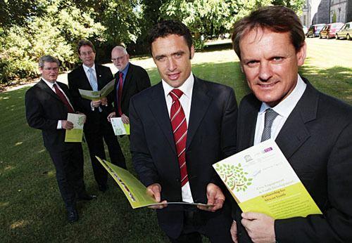 Alan Kerins Advertiserie Minister launches threeway development