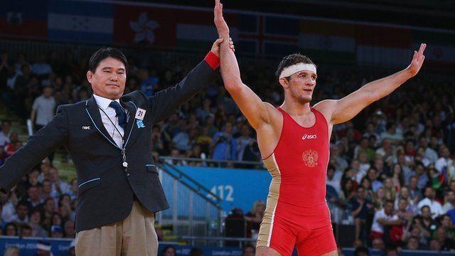 Alan Khugayev Olympics wrestling Alan Khugaev takes 84kg GrecoRoman