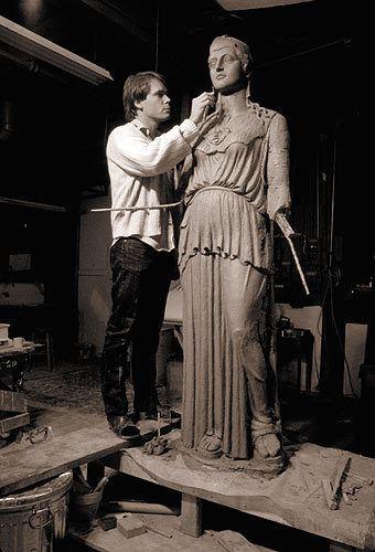 Alan LeQuire Alan LeQuire Sculpture Athena