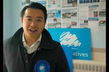 Alan Mak (politician) Alan Mak The first MP from Chinese heritage OBV