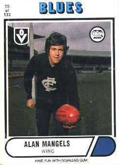 Alan Mangels Blueseum History of the Carlton Football Club Alan Mangels