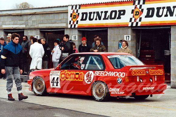 Alan Minshaw Zenfolio TouringCarImagescom 1988 BTCC Alan Minshaw