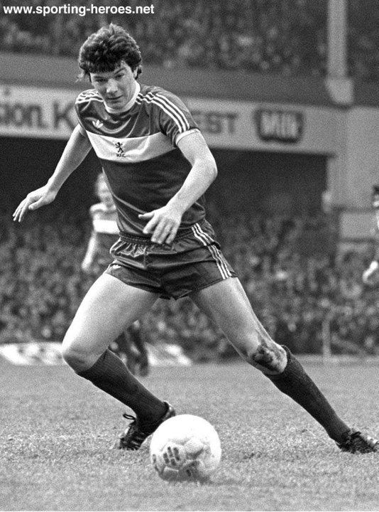 Alan Ramage Alan RAMAGE League appearances Middlesbrough FC