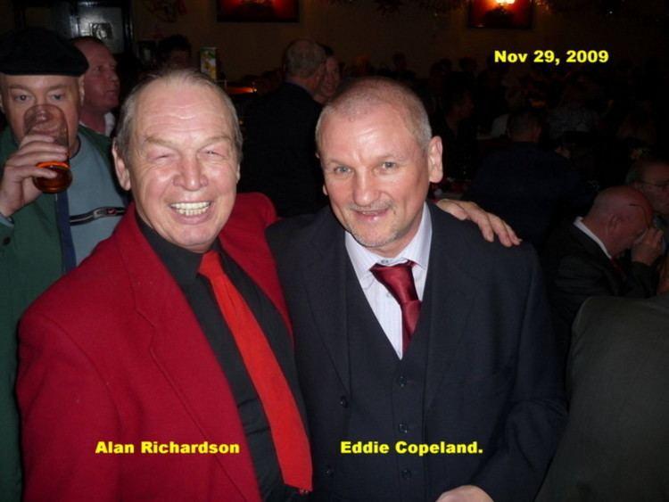 Alan Richardson (boxer) Alan Richardson Eddied Copeland Manchester Ex Boxers Association