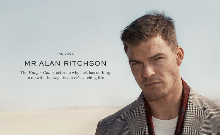 Alan Ritchson MR ALAN RITCHSON THE LOOK The Journal MR PORTER