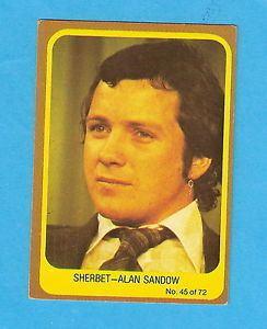 Alan Sandow SCANLENS 1977 POPSWOPS CARD 45 ALAN SANDOW eBay