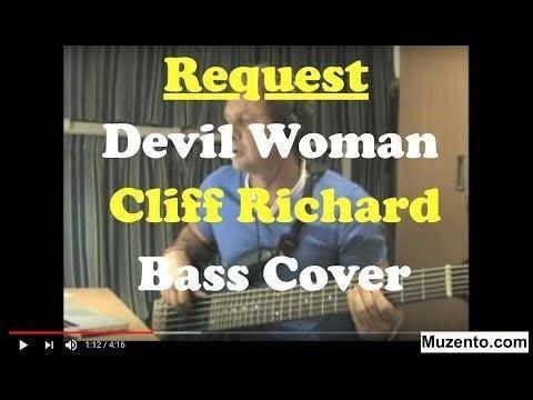 Alan Tarney Devil WomanAlan Tarney Cliff Richard Bass Coverm4v