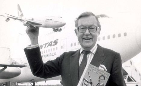 Alan Whicker About Alan Whickers World Foundation