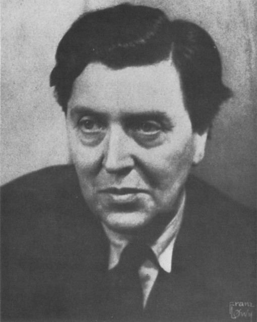 Alban Berg Last photo of Alban Berg 1935