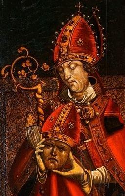 Alban of Mainz CatholicSaintsInfo Blog Archive Saint Alban of Mainz