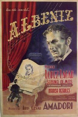 Albeniz (film) movie poster