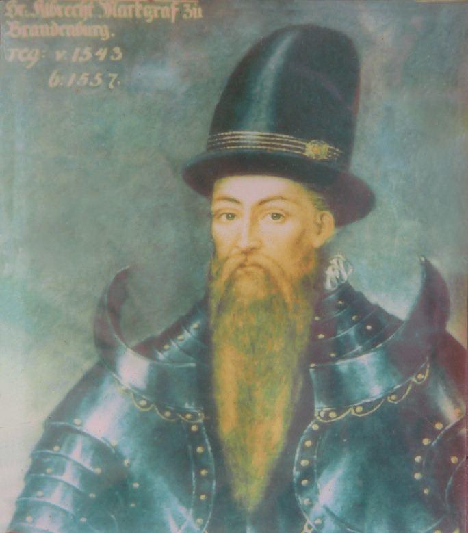 Albert Alcibiades, Margrave of Brandenburg-Kulmbach