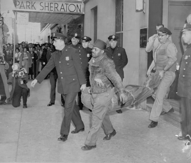 Albert Anastasia Albert Anastasia is murdered at a barbershop in 1957 NY Daily News