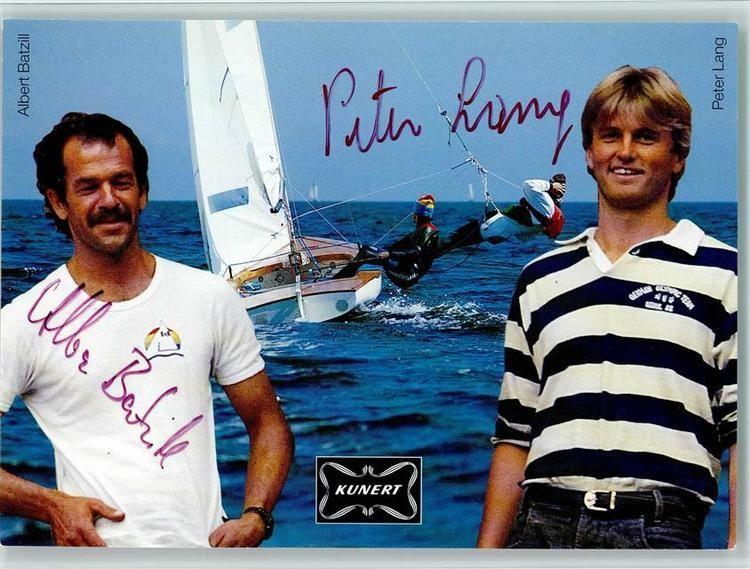 Albert Batzill Sport Albert Batzill Segeln Original Autogramm Ansichtskarten