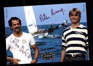 Albert Batzill Albert Batzill und Peter Lang Autogrammkarte Original Signiert