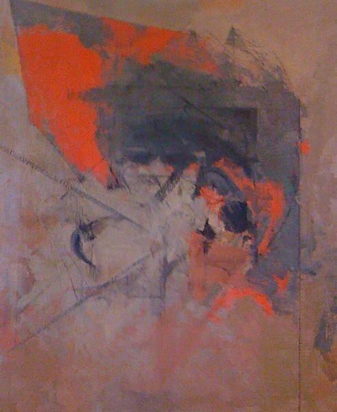 Albert Bitran Anguilaine gris et rouge 1983 Albert Bitran WikiArtorg