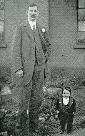 Albert Brough Albert Brough The tallest man Nottinghamshire