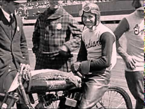 Albert Burns (motorcyclist) Hall of Famer Shrimp Burns Goes All Out at 1921 Beverly Hills Calif