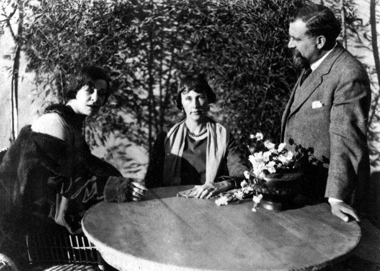 Albert Capellani Alla Nazimova Society 1919 Alla Nazimova and director