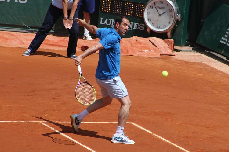 Albert Costa Costa Moya Enqvist and Gaudio fun under the sun Tennis Buzz