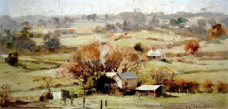 Albert Ernest Newbury Numbers by medium Albert Ernest Newbury 18911941 Australia