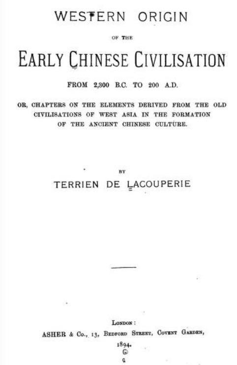 Albert Étienne Jean Baptiste Terrien de Lacouperie L ng A Lng Kim nh Trn Ngc Thm and Terrien de