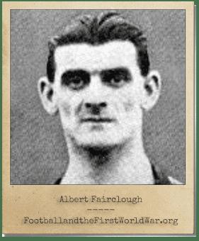 Albert Fairclough Albert Fairclough Service Record Football and the First World War