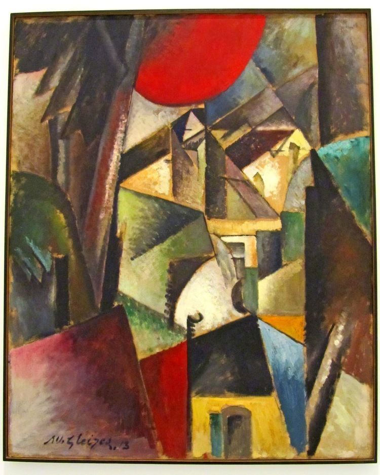 Albert Gleizes Landscape with Mill Albert Gleizes WikiArtorg