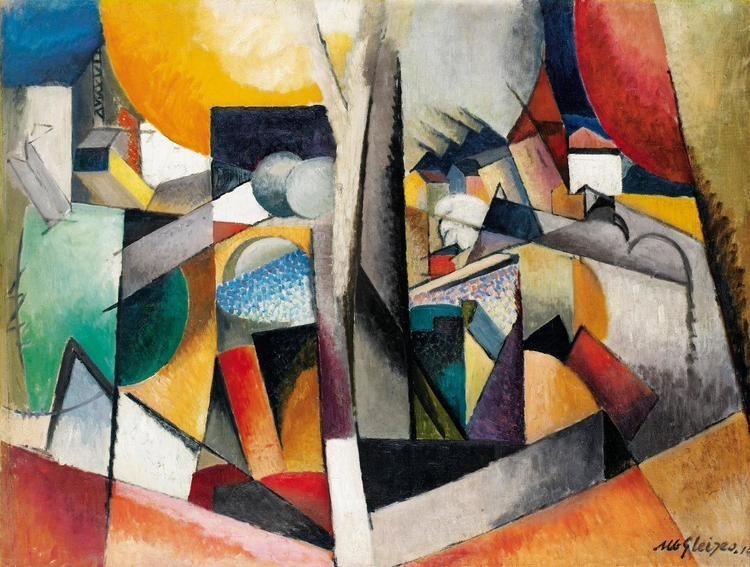 Albert Gleizes Albert Gleizes 1881 1953 Biography and Artworks