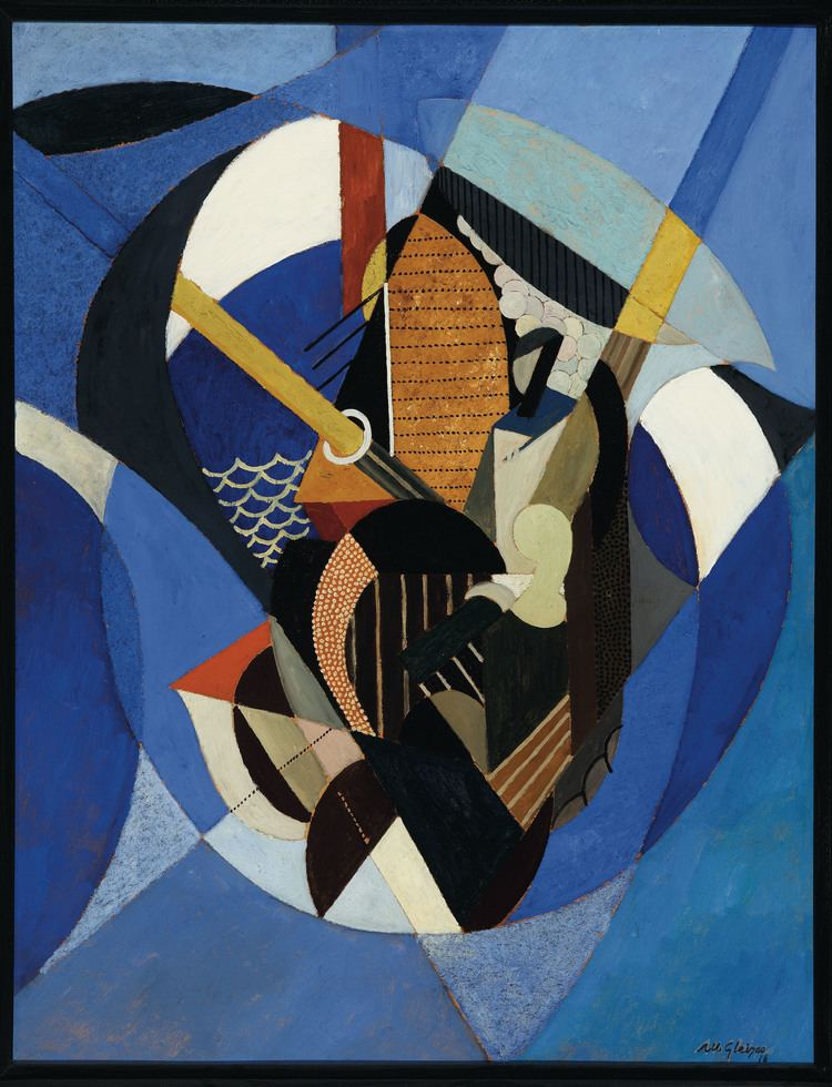Albert Gleizes On a Sailboat Albert Gleizes WikiArtorg
