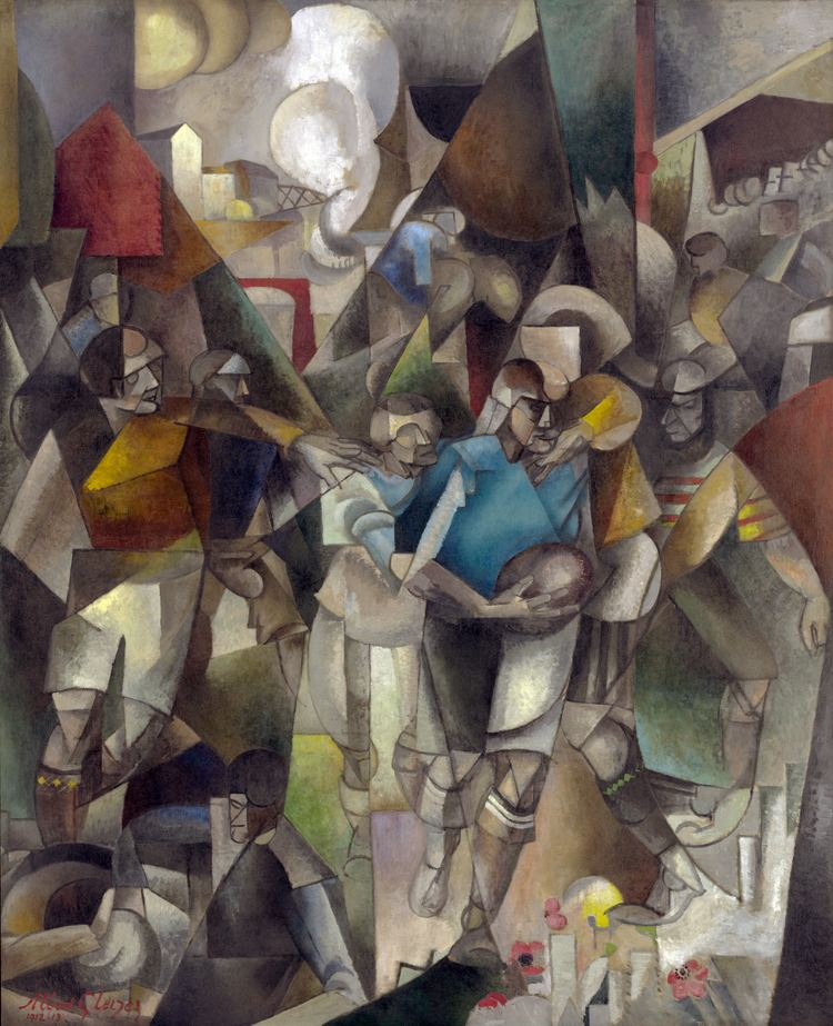 Albert Gleizes Les Joueurs de football Wikipedia the free encyclopedia