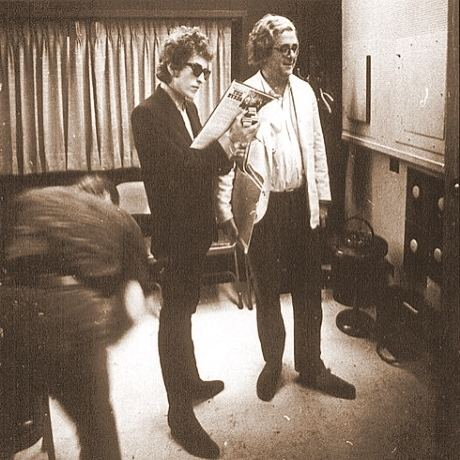 Albert Grossman Snapshot Bob Dylan and Albert Grossman When You Awake