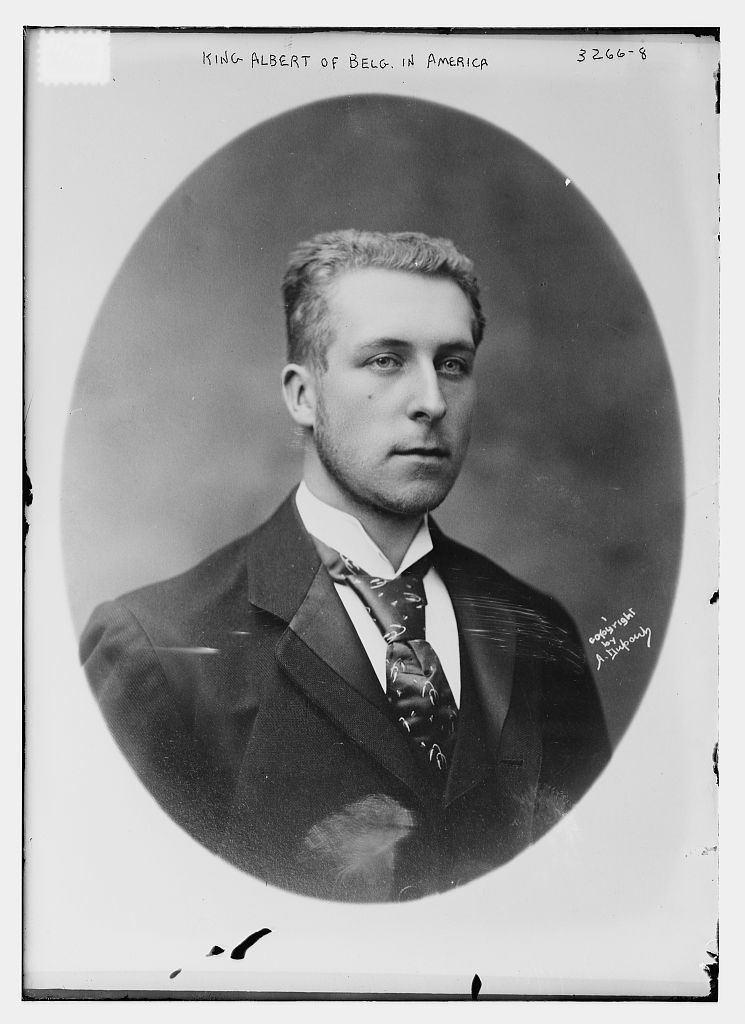 Albert I of Belgium King Albert of Belg ie Belgium in America LOC