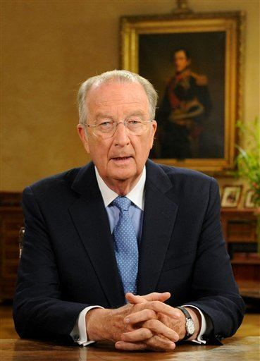 Albert II of Belgium King Albert II of Belgium Attends an Award Ceremony in