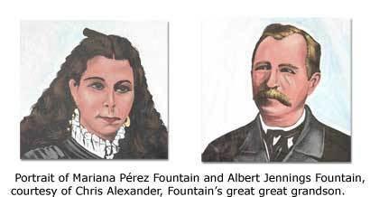 Albert Jennings Fountain Murders of Albert Jennings Fountain DesertUSA