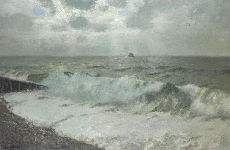 Albert Julius Olsson marine oil paintings Albert Julius Olsson