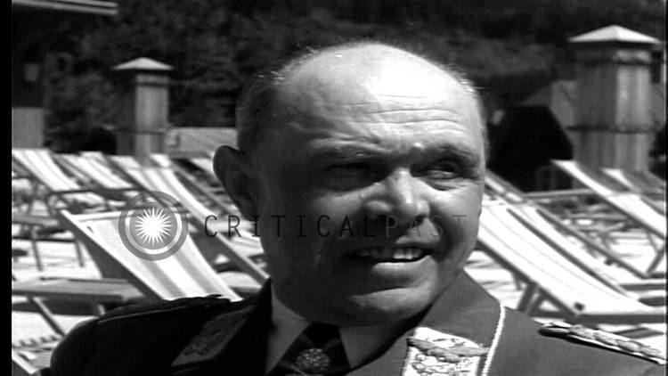 Albert Kesselring In Berchtesgaden Germany German Gen Albert Kesselring
