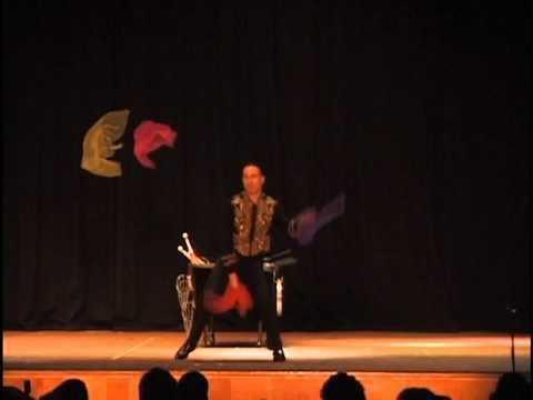 Albert Lucas (juggler) Albert Lucas Juggling Rings Balls Clubs Portland 1999 YouTube