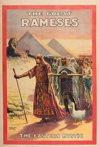 Albert Marchinsky RAMESES ALBERT MARCHINSKY The Great Rameses The Eastern Mystic