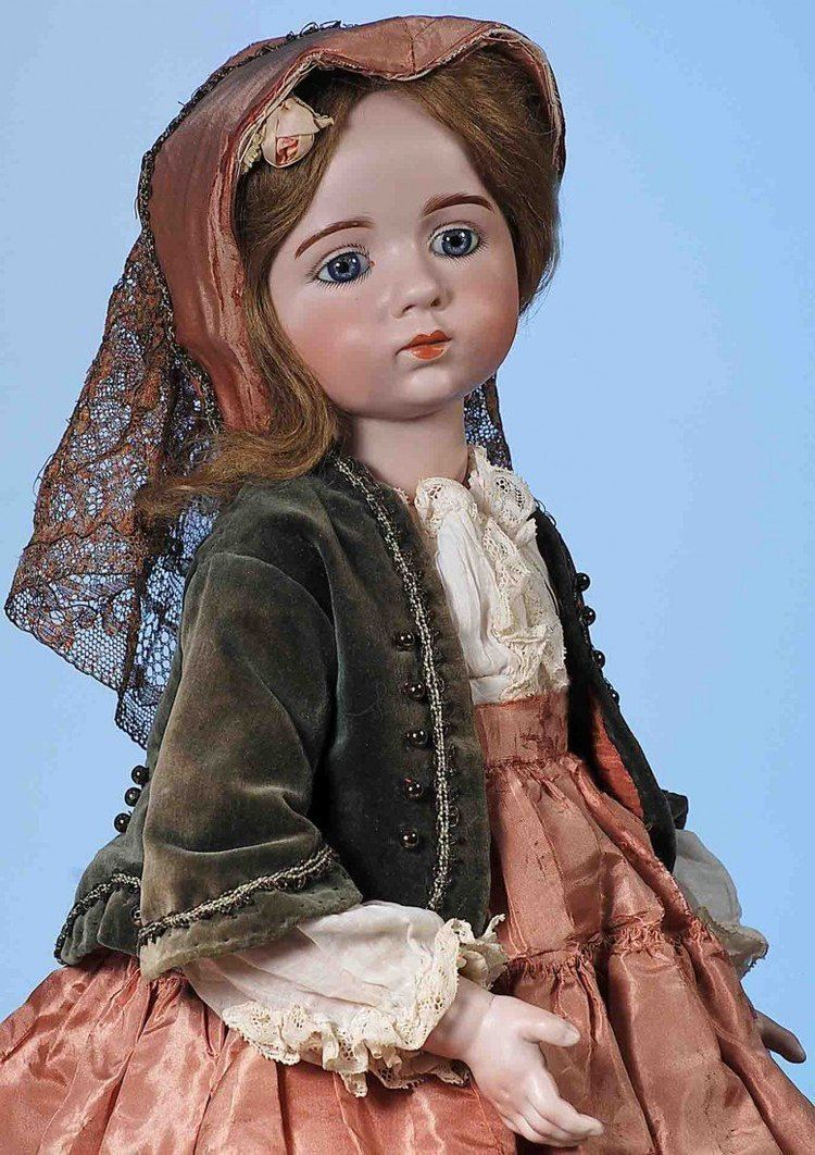 Albert Marque EXTREMELY RARE FRENCH BISQUE DOLL BY ALBERT MARQUE