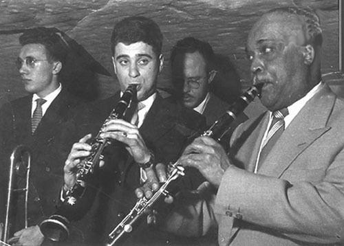 Albert Nicholas Jazz in Brussels with John Gelder Bill Coleman Albert