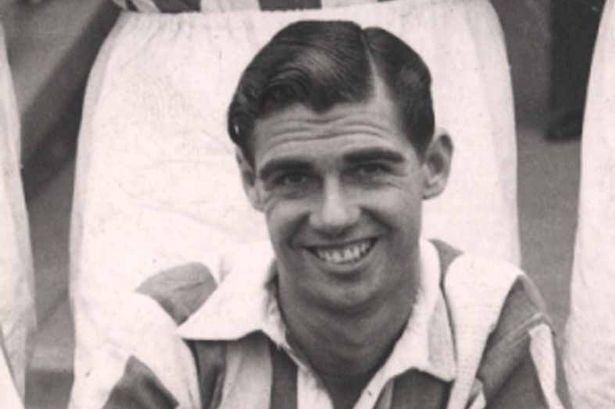 Albert Nightingale Albert Nightingale Huddersfield Towns bright and sunny footballer