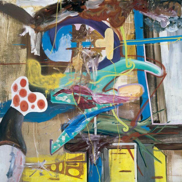 Albert Oehlen Albert Oehlen Artist39s Profile The Saatchi Gallery