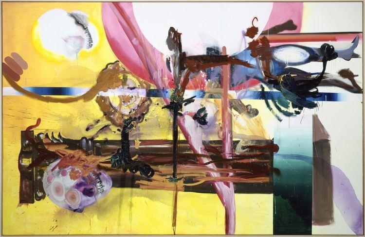 Albert Oehlen Albert Oehlen at The Zabludowicz Collection Abstract