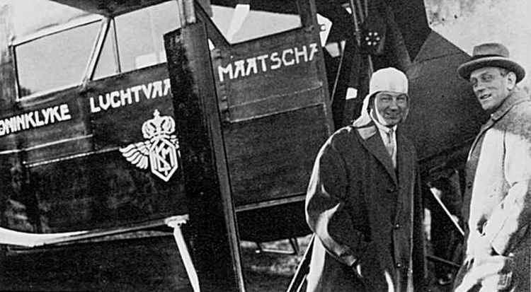 Albert Plesman Fokker versus Plesman