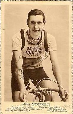 Albert Ritserveldt Albert Ritserveldt won LuikBastenakenLuik in 1939 Geraardsbergen
