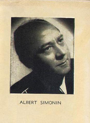 Albert Simonin Albert SIMONIN Biographie et filmographie