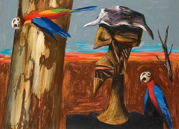 Albert Tucker (artist) Albert Tucker Works on Sale at Auction Biography