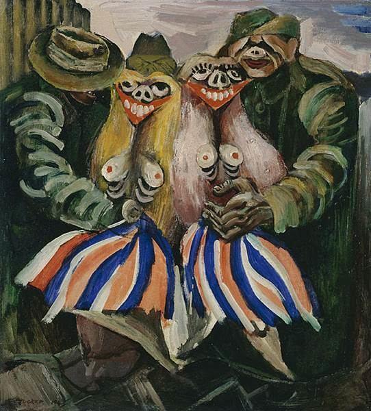 Albert Tucker (artist) Footloose Fillies and Pretentious Penguins Albert Tuckers Victory